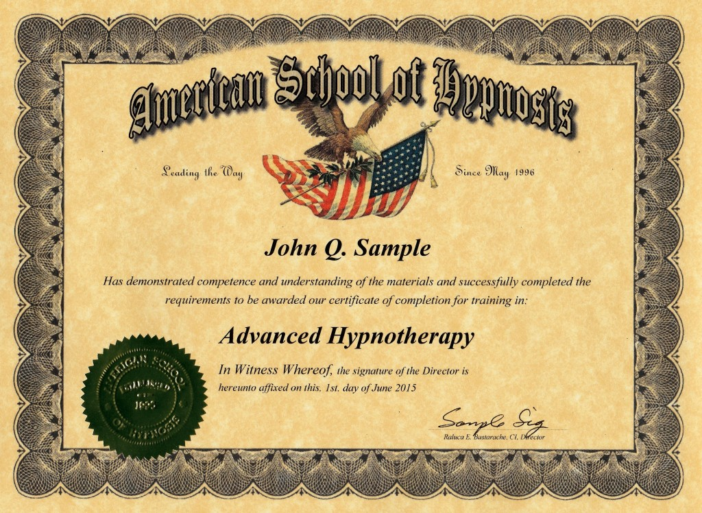 advanced hypnotherapy