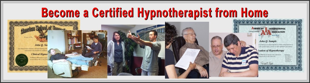 certified hypnosis training