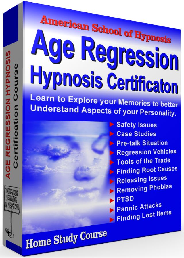age regression hypnosis certification course