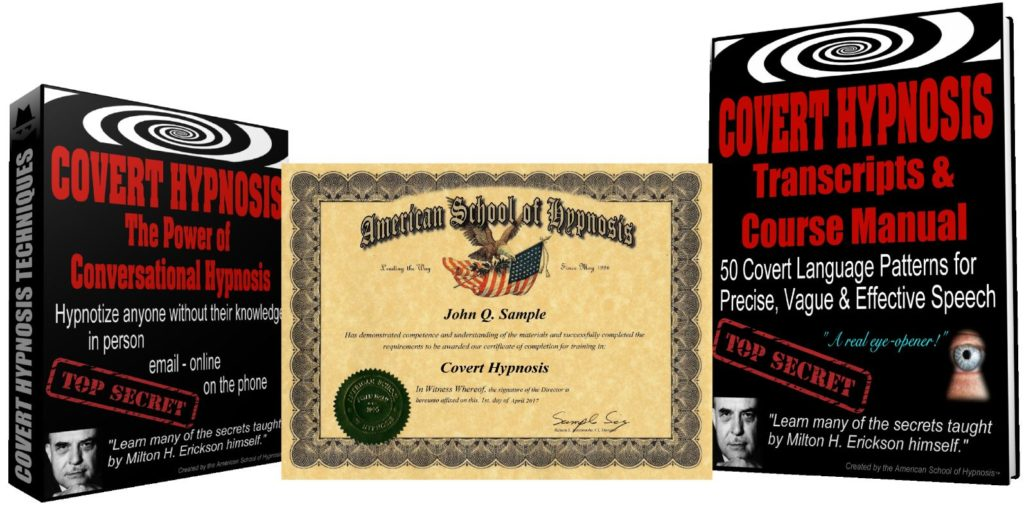 covert hypnosis certification course