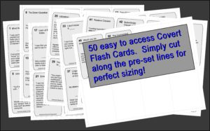 covert hypnosis flash card masters
