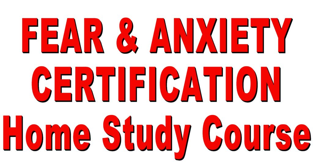 fear and anxiety course
