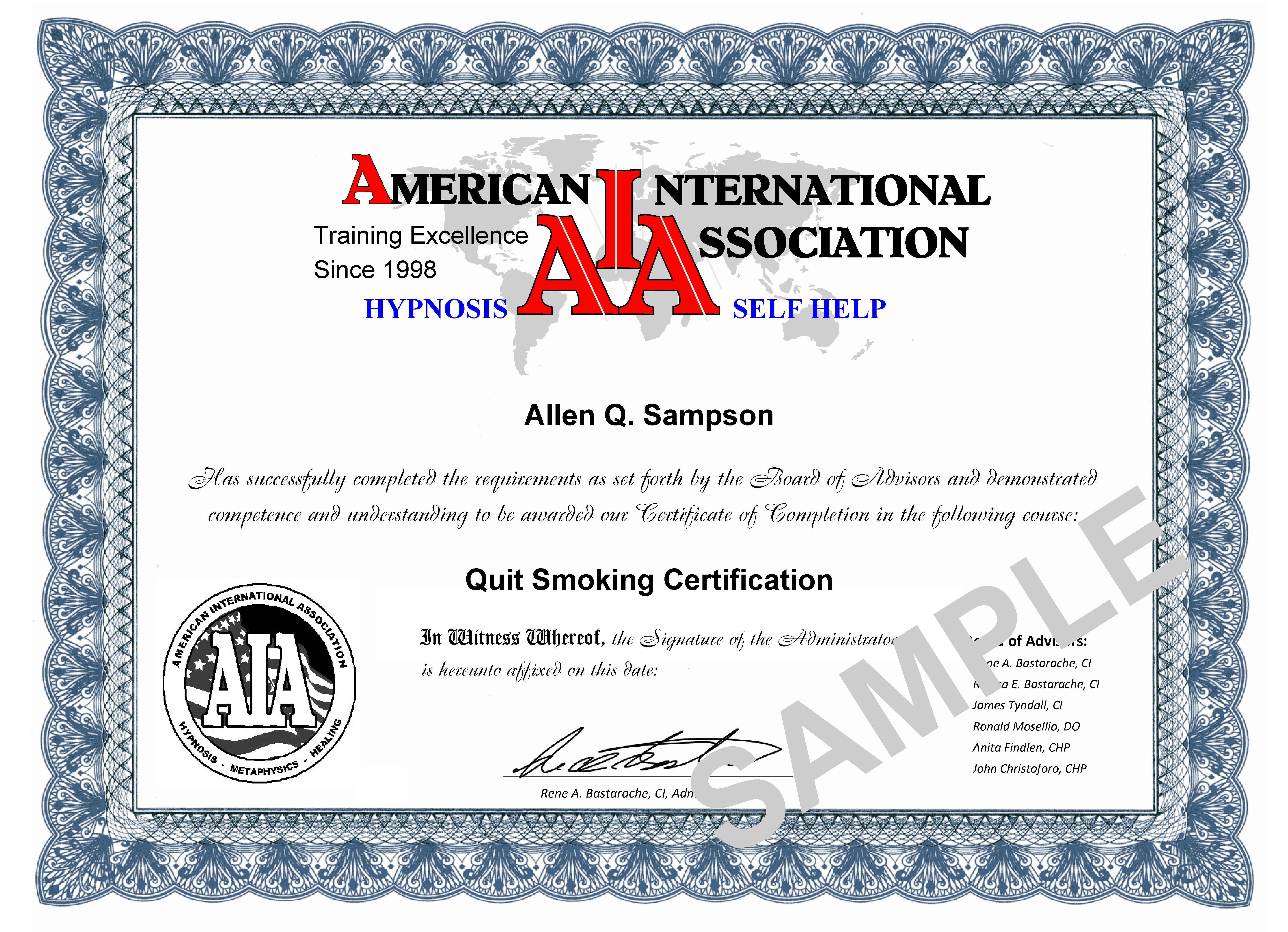 Qscc American School Of Hypnosis