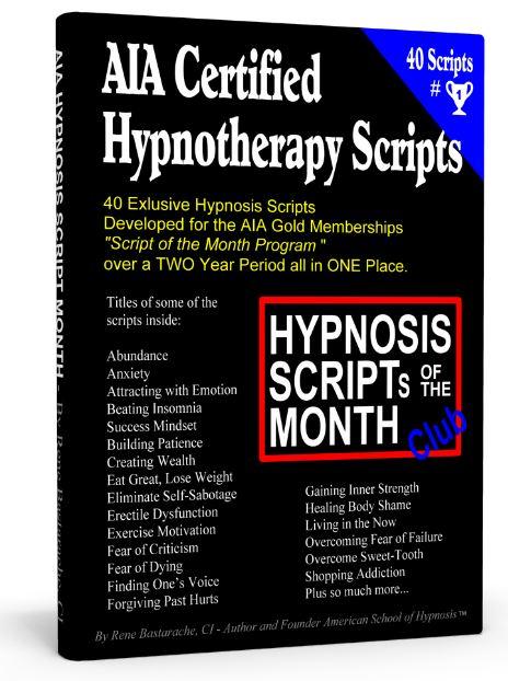 AIA Hypnosis Scripts   American School of Hypnosis