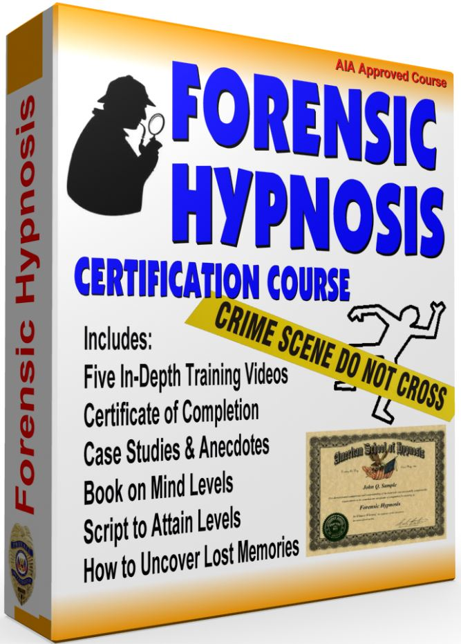 Forensic Hypnosis Certification Course American School Of Hypnosis